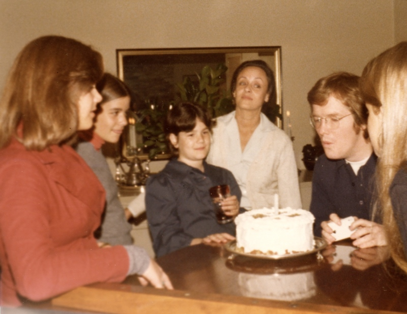 Belvedere 1974_ Dad's bday hosted by Marilyn